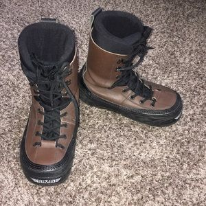 Sims Brown Snowboarding Shoes